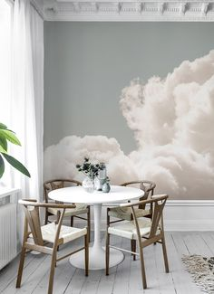 Jody D'Arcy createspopular designs for every room. Find your own modern style with motifs from Jody D'Arcy. See the product range at Photowall. Cloud Wallpaper, More Wallpaper, Wallpaper Decor, Custom Wallpaper, What Is Interior Design, Scandinavian Wallpaper, Create Your Own Wallpaper, Perfect Wallpaper, Cafe Design