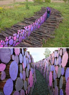 20 People Who Turned Piling Logs Into An Art Form | facebook