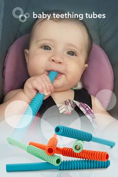 Baby Teething Tubes Benefits Babies (And Baby Necessities, Baby Essentials, Baby Life Hacks, Baby Teething, Baby Gadgets, Baby Must Haves, Everything Baby, Baby Needs, Baby Time