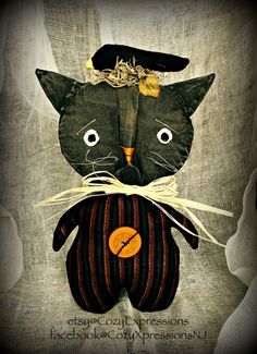 Creatures of the night..........FAAP by RENEE TOUSIGNANT on Etsy #black cats #bats