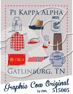 Pi Kappa Alpha wardrobe #fraternityPR #grafcow