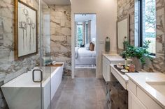 New Homes in The Ranches at Creekside - Home Builder in Boerne TX Highland Homes, Texas Hill Country, New Homes For Sale, Home Builders, Master Bathroom, Ranch, Tubs, Baths, Community