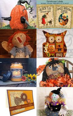 Handmade and Heartfelt Artists Team - Autumn Splendor! by Pearce's Craft Shop on Etsy--Pinned with TreasuryPin.com