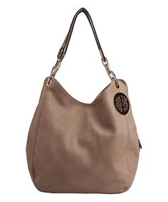 Look what I found on #zulily! Apricot Chain-Strap Hobo by MKF Collection #zulilyfinds