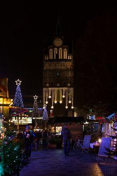 Germany Rostock Christmas market