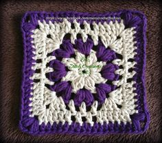 Flower Puff Square by EmZtitchDesigNZ   Crocheting Pattern - Looking for your next project? You're going to love Flower Puff Square by designer EmZtitchDesigNZ. - via @Craftsy
