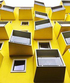 Perfect architecture #Ayellowmark in Copenhagen  . . . . . . . . . . . . . . .