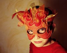Popular items for fire mask on Etsy