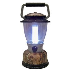 4D Realtree Diffuser Tube LED Weather Resistant High Low Switch Plastic Lantern