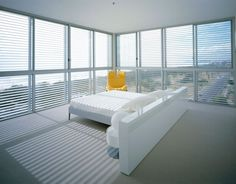 Air Apartments - Ian Moore Architects  Bedroom #interiordesign #modern #bedroom #homedesign