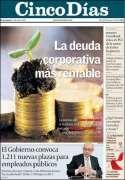 DescargarCinco Dias - 5 Abril 2014 - PDF - IPAD - ESPAÑOL - HQ