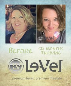 Before And After Thrive Wethrive7 Com Thrive With Le Vel