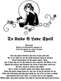 Witchcraft Love Spells | unrequited love fact facts wiccan wiccan ...