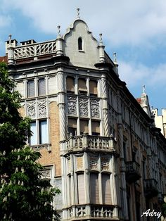 Edificio Liberty', realizzato tra il 1903 e il 1906 dal famoso architetto Pietro Fenoglio.
