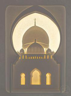 Sheikh Zayed mosque paper cutting, with LED lights Ramadan Wallpaper Hd, Wallpaper Ramadhan, Eid Mubarak Wallpaper, Islamic Quotes Wallpaper, Islamic Art Pattern, Pattern Art, Arabian Nights Costume, Motif Arabesque, Shadow Light Box
