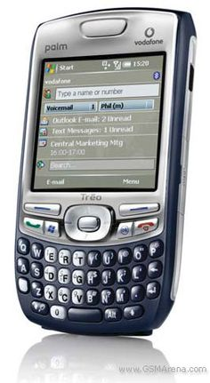 Palm Treo 750v - A classic Windows Mobile phone with a great physical keyboard.