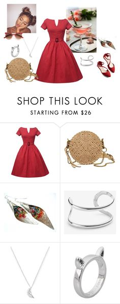 """""""out and about"""" by phocka-alba on Polyvore featuring Elle & Jae Gypset, Ann Taylor, Estella Bartlett and Marc by Marc Jacobs"""