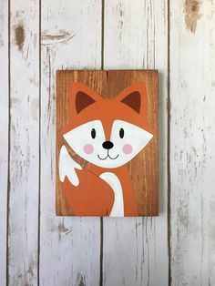 Baby Nursery bedroom wall art decor, woodland forest animal and friends theme. Kids Canvas Art, Art Wall Kids, Wall Art Decor, Ocean Bathroom Decor, Red Home Decor, Rose Shop, Kids Bedroom Furniture, Forest Animals, Baby Decor