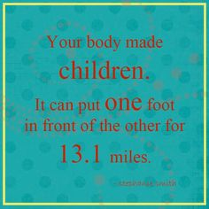 Blood, Sweat, &...Mini Vans: You made babies!!! (San Antonio Rock n Roll Marathon)