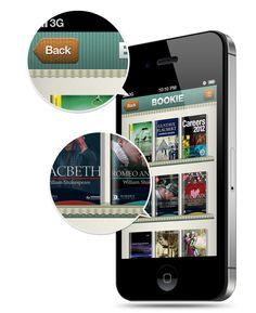 Pandora User Interface Kit for iOS Devices by Vladimir Kudinov, via Behance