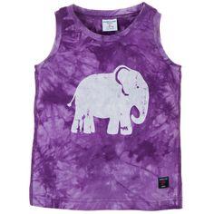 Batik Print Elephant Tank