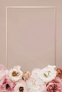 Beautiful pink floral rectangle frame premium image by eyeeyeview 838091811889314305 Gold Wallpaper Background, Rose Gold Wallpaper, Framed Wallpaper, Flower Phone Wallpaper, Pink Wallpaper Iphone, Flowers Background Iphone, Pink Floral Background, Photo Wallpaper, Tapete Gold