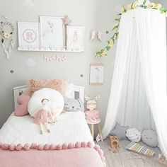 "136 Likes, 9 Comments - Lily Loves Luka  Amanda  (@lilylovesluka) on Instagram: ""Sweet dreams friends! ✨✨ leaving you with this dreamy pic of Scarlett's room by one of my loveliest…"""