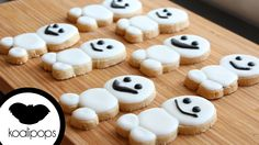 Snowgies Cookies from koalpops (still looking for the video)