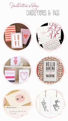 Friday DIY roundup: Free Valentine's Day printables