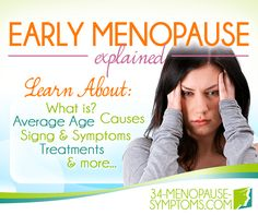 Premature or Early Menopause Signs and Symptoms Symptoms Of Early Menopause, Menopause Signs, Menopause Age, Menopause Relief, Cortisol, Will Turner, Lunge, Signs And Symptoms, Blog