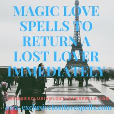 Love magic rituals will make you fall in love with any person you want in a million ways. You will always wake up to fall in love again and again each new day.
