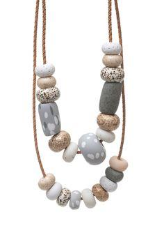 Image of Donatella Big Bead Necklace