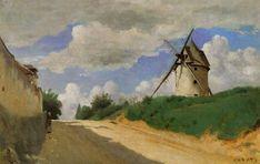 Jean-Baptiste Camille Corot Paintings | Jean-Baptiste Camille Corot