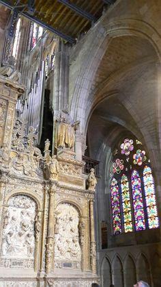 Interior catedral de León.