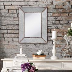 Best farmhouse wall decorations and rustic wall decor you will love. We absolutely love country themed wall decorations including farmhouse wall art, canvas art, mirrors, and more. Farmhouse Mirrors, Rustic Mirrors, Farmhouse Wall Art, Rustic Wall Decor, Vintage Farmhouse, Farmhouse Decor, Wall Mounted Mirror, Wall Mirror, Metal Mirror