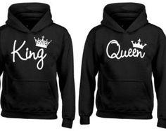 Wifey Hubby couple hoodies matching hoodies by TrendyyTops on Etsy