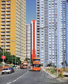 Red Road housing estate Glasgow, Scotland.
