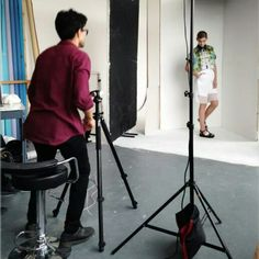 Behind the scenes #SS15 collection shoot #handcrafted in #shoreditch #london 125 #bricklane #fashion #design #madeinlondon #LFW