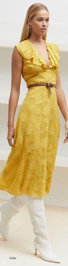 Sunbeam Yellow Dresses Spring 2018