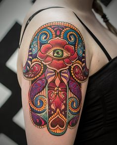 Diseños de tatuajes inspirados en un viaje de LSD que te harán alucinar.