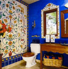 magpie painting Beautiful Decor Ideas From Latin America