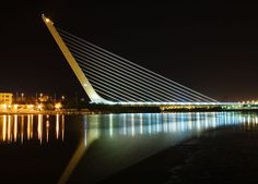 Puente del Alamillo, Sevilla. Calatrava