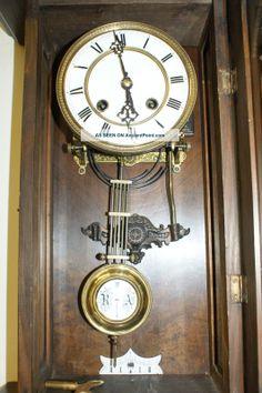 antique german wall clocks German Antique Regulator Wall Clock