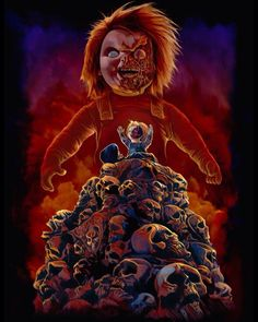 Fright-Rags New Child's Play Merchandise Horror Movie Characters, Horror Movies, Freddy Krueger, Childs Play Chucky, Bride Of Chucky, Horror Monsters, Horror Icons, Horror House, Classic Monsters