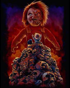 Fright-Rags New Child's Play Merchandise Horror Icons, Horror Films, Horror Art, Freddy Krueger, Childs Play Chucky, Bride Of Chucky, Horror Movie Characters, Horror Monsters, Horror House