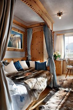 Chalet Bear- One of the Best Ski Resorts in Europe Decor, Flat Apartment, Interior Spaces, Rustic Dining Room, Decorating Your Home, Single Bedroom, Home, Loft Room, Interior