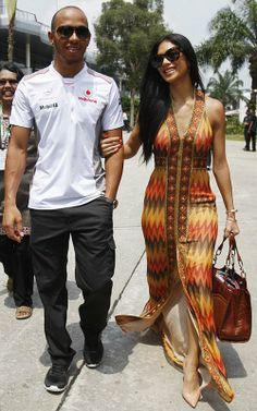 Nicole Scherzinger - Malaysian Formula One Grand Prix