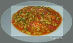 Papolette en cuisine: Thon à la tomate et  flageolets