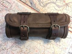 Book Wrap, Tool Roll, Brown Belt, Leather Tooling, Baggage, My Etsy Shop, Motorcycle, This Or That Questions, Biking