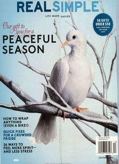 Peaceful. Gefunden in: REAL SIMPLE, Nr. 12/2016
